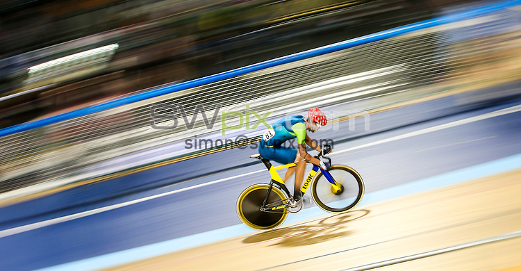 Picture by Alex Whitehead/SWpix.com - 05/03/2017 - Cycling - UCI Para-cycling Track World Championships - Velo Sports Center, Los Angeles, USA - Brazil's Lauro Cesar Chaman.