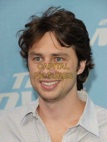 ZACH BRAFF.The 2006 MTV Movie Awards - Arrivals, held at The Sony Picture Studios in Culver City, Los Angeles, California, USA, June 3, 2006..portrait headshot.Ref: DVS.www.capitalpictures.com.sales@capitalpictures.com.©Debbie VanStory/Capital Pictures