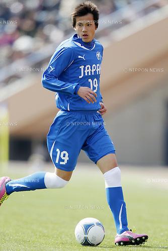 Tsuyoshi Miyaichi (High-school Selection), MARCH 3, 2012 - Football / Soccer : FUJI XEROX Super Cup 2012 Next Generation match between U-18 J.league Selection 3-0 High-school Selection at National Stadium, Tokyo, Japan. (Photo by Yusuke Nakanishi/AFLO SPORT) [1090]