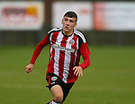 Alex Brown of Sheffield Utd during the U23 Professional Development League Two match at the Local Look Stadium, Sheffield. Picture date: September 26th, 2016. Pic Simon Bellis/Sportimage