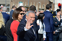 Roma, 2 Giugno 2017<br /> Pietro Grasso, Laura Boldrini.<br /> 71&deg;anniversario Festa della Repubblica