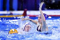 GORBUNOVA Olga RUS  <br /> Budapest 12/01/2020 Duna Arena <br /> SLOVAKIA (white caps) Vs. RUSSIA (blue caps)<br /> XXXIV LEN European Water Polo Championships 2020<br /> Photo  © Andrea Staccioli / Deepbluemedia / Insidefoto