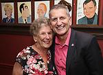 Tom Kirdahy with his mom during the Robert Whitehead Award Ceremony honoring Tom Kirdahy at Sardi's on 5/22/2019 in New York City.