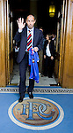 Paul Le Guen unveiled as the new manager of Rangers at the front door of Ibrox Stadium, 9th May 2006