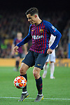 UEFA Champions League 2018/2019.<br /> Quarter-finals 2nd leg.<br /> FC Barcelona vs Manchester United: 3-0.<br /> Philippe Coutinho.