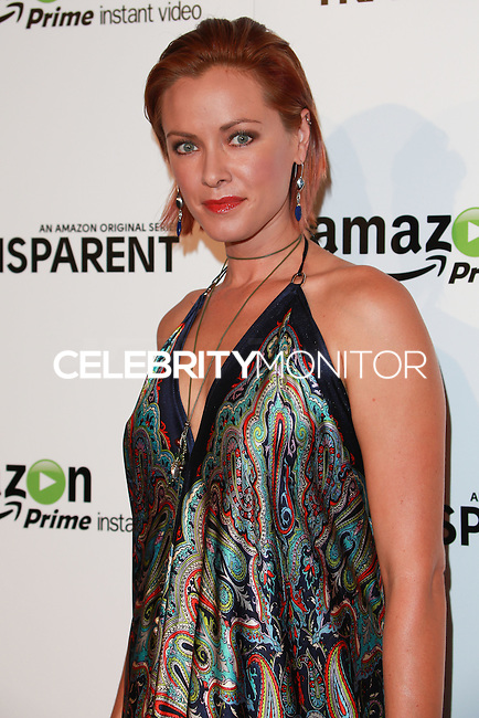 LOS ANGELES, CA, USA - SEPTEMBER 15: Kristanna Loken arrives at the Los Angeles Premiere Of Amazon Studios' 'Transparent' held at the Ace Hotel on September 15, 2014 in Los Angeles, California, United States. (Photo by David Acosta/Celebrity Monitor)