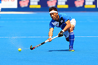 Jang Jonghyunl of Korea in action  during the Hockey World League Semi-Final Pool A match between China and Korea at the Olympic Park, London, England on 17 June 2017. Photo by Steve McCarthy.