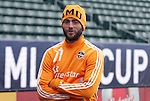 19 November 2011: Brad Davis. The Houston Dynamo held a practice session at the Home Depot Center in Carson, CA one day before playing in MLS Cup 2011.