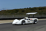 Jim Hall driving a Chaparral 2E at the 32nd Rolex Monterey Historic Automobile Races, 2005