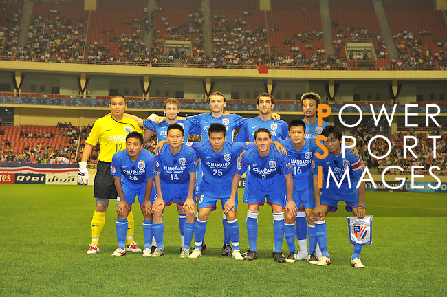 Shanghai Shenhua vs Kashima Antlers during the 2009 AFC Champions League Group G match on May 19, 2009 at the, Hongkou Stadium, Shanghai, China. Photo by World Sport Group