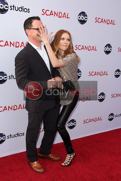 Joshua Malina, Darby Stanchfield<br />