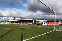General view of the ground during Arsenal Women vs Yeovil Town Ladies, FA Women's Super League FA WSL1 Football at Meadow Park on 11th February 2018