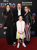 11 March 2019 - Hollywood, California - Joey Fatone. &quot;Dumbo&quot; Los Angeles Premiere held at Ray Dolby Ballroom. Photo <br /> CAP/ADM/BT<br /> &copy;BT/ADM/Capital Pictures