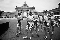 Team Lotto-Belisol team presentation <br /> <br /> 1st Brussels Cycling Classic<br /> Brussels - Brussels: 197km