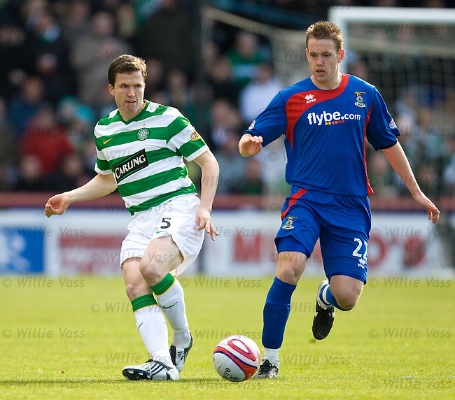 Gary Caldwell and Garry Wood
