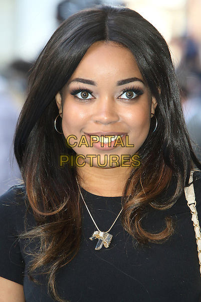 LONDON, ENGLAND - Dionne Bromfield at the 'Entourage' European Premiere at the Vue West End, Leicester Square, on June 9th 2015 in London, England<br /> CAP/ROS<br /> &copy;Steve Ross/Capital Pictures
