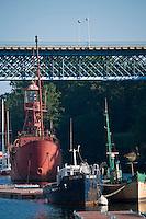 Europe/France/Bretagne/29/Finistère/Douarnenez: les bateaux du Port-Musée de Port-Rhu
