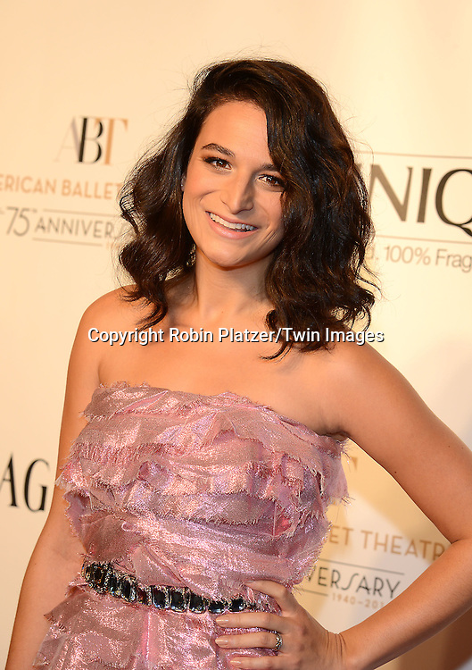Jenny Slate of &quot;Obvious Child&quot; attends the Opening Night of American Ballet Theatre 2014 Fall Gala on October 22,2014 at the David Koch Theater at Lincoln Center in New York City. <br /> <br /> photo by Robin Platzer/Twin Images<br />  <br /> phone number 212-935-0770
