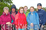 Having fun at the charity walk in aid of Crumlin Children's Hospital in Ross Castle Killarney on Saturday morning was l-r:Agnes Linnane Macroom, Jimmy O'Connor Killorglin, Margaret Corridon Kilmoyley, Martina O'Sullivan Kilmoyley, Alex Piszczyk and Nicola O'Sullivan Crumlin Children's Hospital..