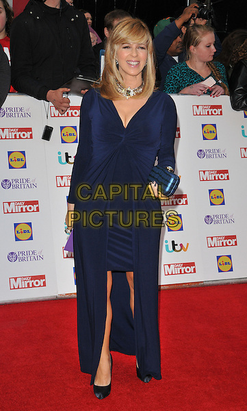 Kate Garraway attends the Daily Mirror Pride of Britain Awards 2015, Grosvenor House Hotel, Park Lane, London, England, UK, on Monday 28 September 2015. <br /> CAP/CAN<br /> &copy;Can Nguyen/Capital Pictures