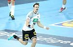 13.01.2018., Croatia, Arena Zagreb, Zagreb - European Handball Championship, Group C, Round 1, Germany - Montenegro. JANKE Maximilian <br /> <br /> Foto &copy; nordphoto / Sanjin Strukic/PIXSELL