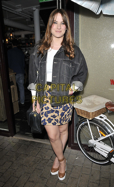 LONDON, ENGLAND - JULY 08: Kat Shoob attends the Malibu Airways National Pina Colada Day party, Disco, Kingly Court, on Tuesday July 08, 2014 in London, England, UK. <br /> CAP/CAN<br /> &copy;Can Nguyen/Capital Pictures
