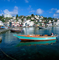 Karibik, Kleine Antillen, Grenada St. Georges: Carenage Hafen | Caribbean, Lesser Antilles, Grenada, St. Georges: Carenage Harbour