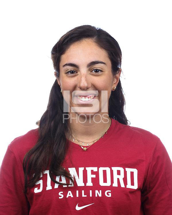 Stanford, CA - September 20, 2019: Christina Sakellaris, Athlete and Staff Headshots