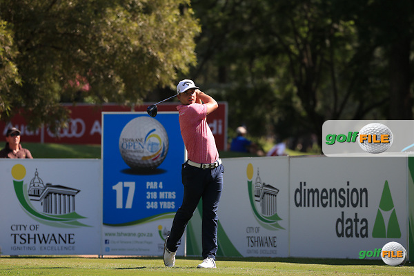 Haydn Porteous (RSA) in action during Round Three of the 2016 Tshwane Open, played at the Pretoria Country Club, Waterkloof, Pretoria, South Africa.  13/02/2016. Picture: Golffile | David Lloyd<br /> <br /> All photos usage must carry mandatory copyright credit (&copy; Golffile | David Lloyd)