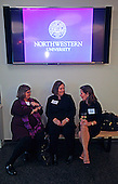 WIN Chair Linda Munger welcomes Professor Ellen Wartella and Dean Barbara O'Keefe to New York