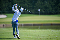 Eun-Hee Ji (KOR) watches her tee shot on 3 during round 3 of the 2018 KPMG Women's PGA Championship, Kemper Lakes Golf Club, at Kildeer, Illinois, USA. 6/30/2018.<br /> Picture: Golffile | Ken Murray<br /> <br /> All photo usage must carry mandatory copyright credit (&copy; Golffile | Ken Murray)