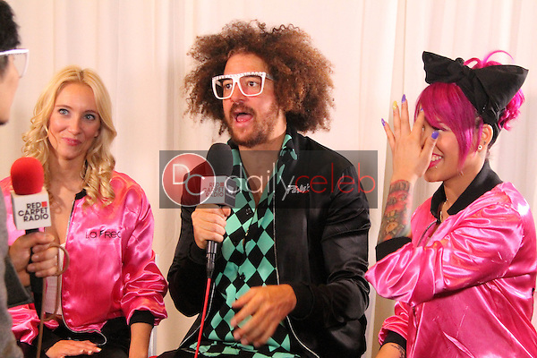 Redfoo<br /> Red Carpet Radio presents Grammys Radio Row Day 1 at the Staples Center in Los Angeles, CA<br /> David Edwards/DailyCeleb.com 818-249-4998