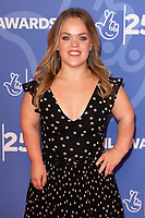 LONDON, UK. October 15, 2019: Ellie Simmonds at the National Lottery Awards 2019, London.<br /> Picture: Steve Vas/Featureflash