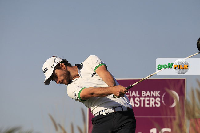 Alejandro CANIZARES (ESP) tees off the 16th tee during Saturday's Final Round of the 2015 Commercial Bank Qatar Masters held at Doha Golf Club, Doha, Qatar.: Picture Eoin Clarke, www.golffile.ie: 1/24/2015