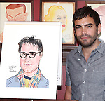 Matthew Risch.attending the celebration for Jon Robin Baitz receiving a Caricature on Sardi's Hall of Fame in New York City on 5/31/2012