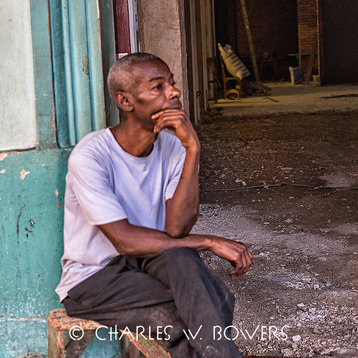 Faces Of Cuba - What could he be thinking about?<br />
