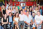 Sarah Goff, kilcummin and Stephen Brosnan Kilcummin celebrate their engagement with their family and friends in Charlie Foleys bar Killarney on Saturday night