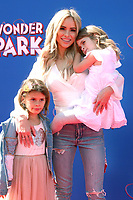 LOS ANGELES - MAR 10:  Amanda Stanton, daughters at the Wonder Park Premiere at the Village Theater on March 10, 2019 in Westwood, CA