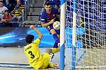 League LNFS 2017/2018 - Game 15.<br /> FC Barcelona Lassa vs Gran Canaria FS: 9-2.<br /> Sergio Lozano vs Aythami Torrado.