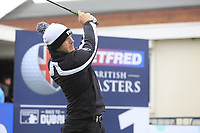 Matt Wallace (ENG) during the Hero Pro-am at the Betfred British Masters, Hillside Golf Club, Lancashire, England. 08/05/2019.<br /> Picture Fran Caffrey / Golffile.ie<br /> <br /> All photo usage must carry mandatory copyright credit (© Golffile | Fran Caffrey)