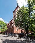 Olsztyn, 2014-05-18. Bazylika Archikatedralna p.w. Św. Jakuba Starszego.