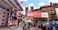 Picture by Allan McKenzie/SWpix.com - 14/05/2017 - Cycling - HSBC UK British Cycling -  National Women's Road Series - Lincoln Grand Prix - Podium Drops Cycling Alice Barnes and Rebecca Durrell