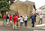 VMI Vincentian Heritage Tour: The Square de la Laïcité in Dax, France Saturday, June 25, 2016. (DePaul University/Jamie Moncrief)