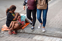 Street photography Cebu city and Mactan island, Philippines Poverty and children in the streets of Cebu,