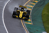 24th March 2018, Melbourne Grand Prix Circuit, Melbourne, Australia; Melbourne Formula One Grand Prix, qualifying; The number 27 Renault Sport driven by Nico Hulkenberg