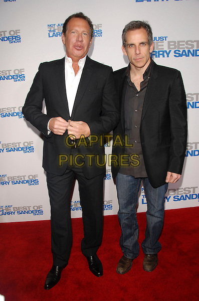 "GARRY SHANDLING & BEN STILLER.attends The Larry Sanders Show Wrap Party and DVD Launch Party for ""Not Just the Best of Larry Sanders Show DVD"" held at The Regent Beverly Wilshire in Beverly Hills, California, USA,  April 10th 2007..full length.CAP/DVS.©Debbie VanStory/Capital Pictures"