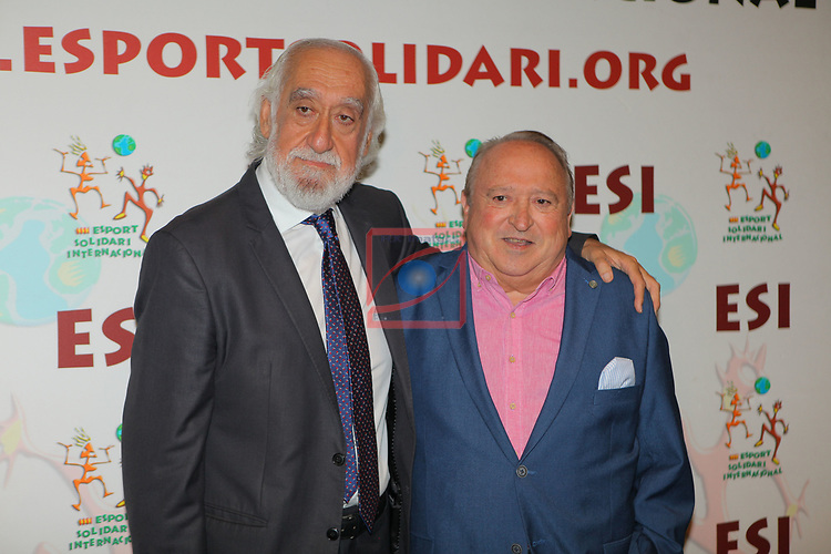 XIV Sopar Solidari de Nadal.<br /> Esport Solidari Internacional-ESI.<br /> Josep Maldonado & Fernando Esteso.