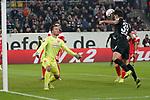 11.03.2019, Merkur Spielarena, Duesseldorf , GER, 1. FBL,  Fortuna Duesseldorf vs. Eintracht Frankfurt,<br />  <br /> DFL regulations prohibit any use of photographs as image sequences and/or quasi-video<br /> <br /> im Bild / picture shows: <br /> 1:0 fuer Frankfurt durch Gon&ccedil;alo Paci&ecirc;ncia (Frankfurt #39), <br /> <br /> Foto &copy; nordphoto / Meuter