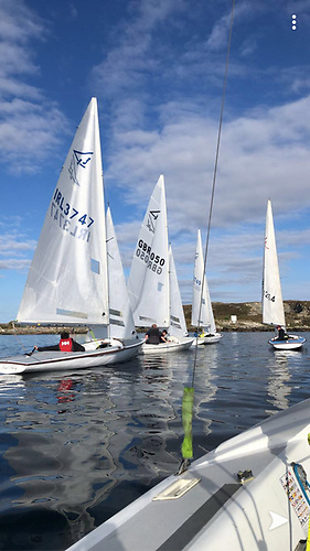 The Connemara Flying Fifteen fleet now numbers 27 boats