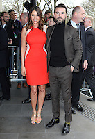 Lisa Snowdon and Dave Berry arriving for the TRIC Awards 2014, at Grosvenor House Hotel, London. 11/03/2014 Picture by: Alexandra Glen / Featureflash